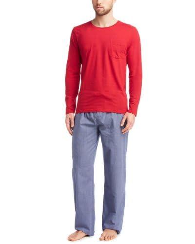 Esprit Bodywear Parte Arriba Pijama Rojo