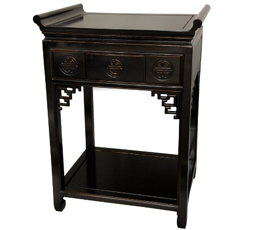 Antique bedside tables for Extra tall nightstands