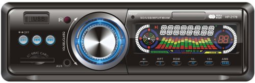Car Head Unit MP3 Player SD / USB Compatible