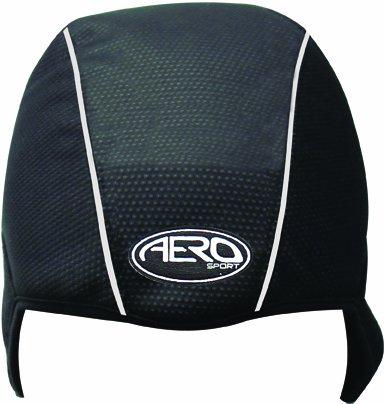 Aero Sport® AquaSkullTM 3M Scotchlite Hi Visibility Cycling/Skiing&Running Cap/Helmet Liner Windbreaker® Fleece Water Resistant Cap Unisize