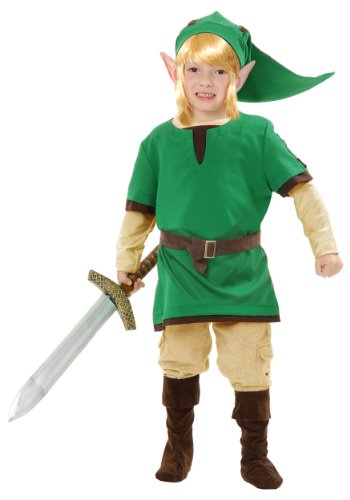 Zelda: Link the Warrior Elf Toddler Costume