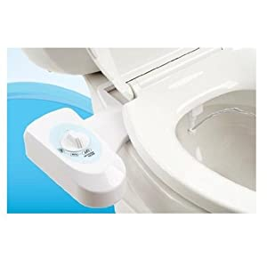 Pure Clean Fresh Water Spray Non-Electric Mechanical Bidet Toilet Seat Attachment