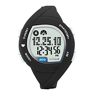 Mio Active Connect Heart Rate Monitor (Black)