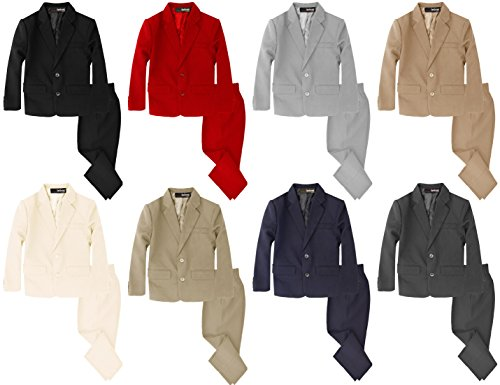 Gino Giovanni Boys 2 Piece Suit Set ...