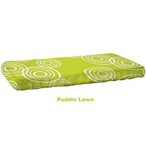 Nook Organic Fitted Crib Sheet - Lawn Puddle