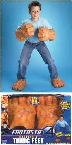 Fantastic 4: Thing Feet