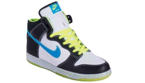 Nike Men'S Sb Dunk High As Prm Basketball Shoes-White/Blue/Glow-10