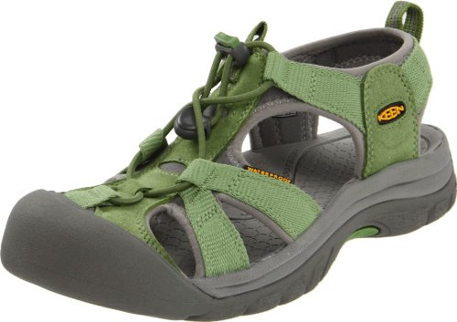 Keen Women's Venice H2 Water Shoe,Jade Green/Neutral Gray,7 M US