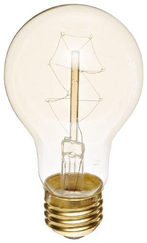 Heirlume Hl-0140Wpack1 Vintage Edison Bulb 40-Watt With Medium Base, 2.4-Inch X 4.3-Inch, 1-Pack