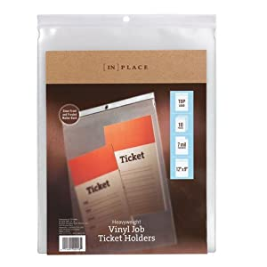 """[IN]PLACE Top-Load Heavyweight Vinyl Envelopes, 9"""" x 12"""""""
