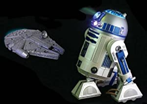 NEW Star Wars 1 / 2 Scale R2-d2 Projector DVD DVD Ipod Video Cd Mp3 Mp4 Ems