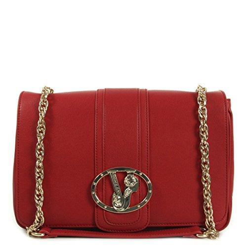 Versace Jeans Linea Nappa Liscia Alcantara Rouge, Borsetta