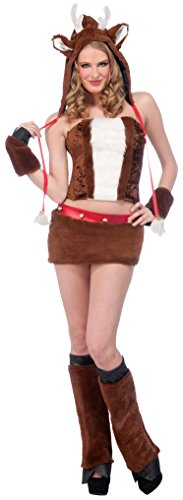 Forum Women's Furry Reindeer Costume