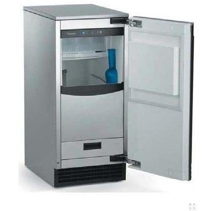 Scotsman : SCCP50M1WU 15in Under-Counter Gourmet Ice Machine w/Pump - White Cabinet Custom Panel Req