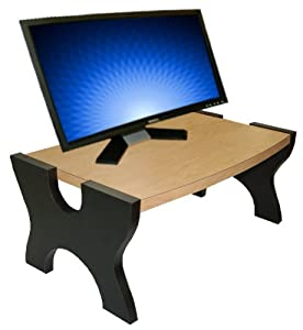 Ergo-Stand - Convert Desk to Stand Up Desk (Maple)