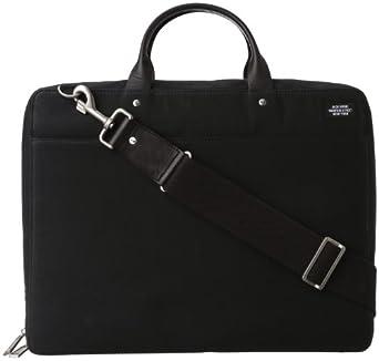 Jack Spade  Waxwear NYRU0001 Briefcase,Black,One Size
