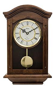 chiming regulator quartz wall clock with pendulum
