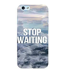 PrintVisa Life Quotes Design 3D Hard Polycarbonate Designer Back Case Cover for Apple iPhone 6