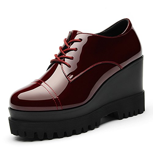 laikajindun-stylish-womens-patent-pu-round-mouth-oxfords