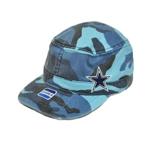Amazon.com : NFL Dallas Cowboys Military Fatigue Hat Cap Light Blue
