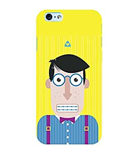 ANIMATED CHARACTER WITH ZIPPED LIPS 3D Hard Polycarbonate Designer Back Case Cover for Apple iPhone 5S