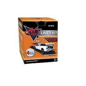 Al's Liner ALS-BL Black Premium DIY Polyurethane Liner Kit