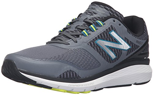 New Balance Men's 1865v1  Walking Shoe, Grey/Black, 11 4E US