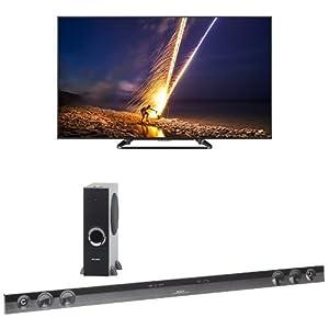 Sharp 70LE660 LED HDTV with HT-SB602 Sound Bar