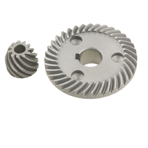 Amico 2 Pcs Replacement Spiral Bevel Gear for Makita 9533 Angle Grinder