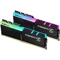 G.Skill F4-3000C15D-16GTZR 16GB (2 x 8GB) PC4-24000 3000MHz DDR4 288-Pin RDIMM Desktop Memory (Black)