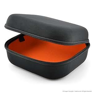 Sennheiser HD598, HD558, HD518, HD595, HD555, HD515, HD280 ヘッドホンキャリングケース / バッグ、ケーブル、 AMP、部品および付属品を収容する余地がある / Headphone Full Size Hard Carrying Case