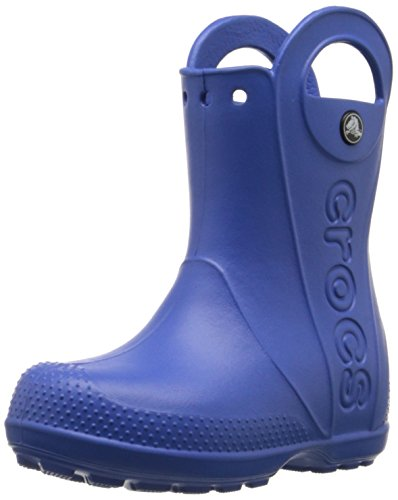crocs Handle It Rain Boot, Unisex-Kinder Kurzschaft Gummistiefel, Blau (Sea Blue 430), 28/29 EU (C11 Unisex-Kinder UK)