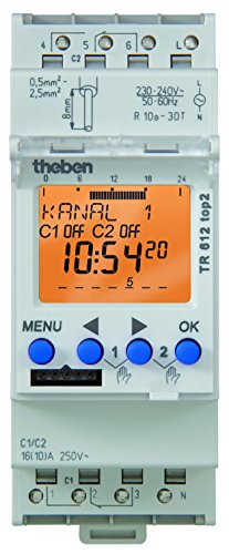 theben tr 610 timer digitale top 2 timer panorama auto. Black Bedroom Furniture Sets. Home Design Ideas