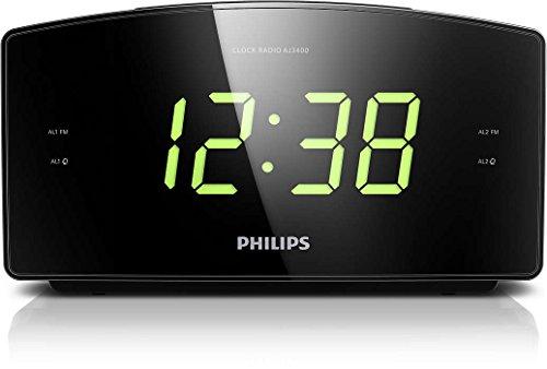 Philips AJ3400 Radiosveglia, Nero