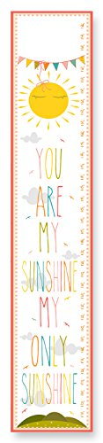 The Kids Room by Stupell You are my Sunshine Growth Chart