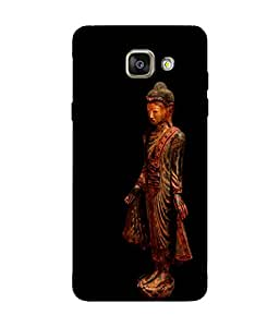 Chnno 3d buddha Printed Back Cover For Samsung Galaxy A5 (2016)