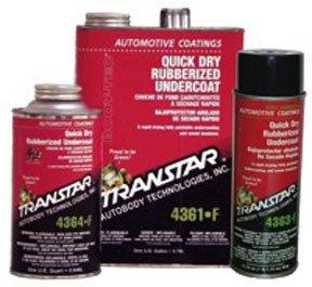 Transtar Quick Dry Rubberized Undercoating, Gallon TRE-4361-F
