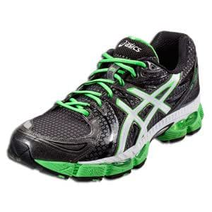ASICS GEL-Nimbus 13: ASICS Men's Running Shoes Storm/Onyx/Electric Apple