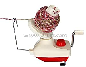 compact 4 oz wool / yarn ball winder TH700: works with U-nitt swift