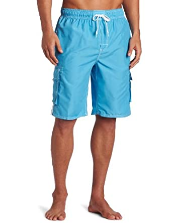 Kanu Surf Men's Barracuda Trunks Aqua