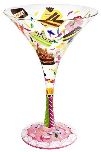 Lolita Martini Glass - Birthday Cake unknown
