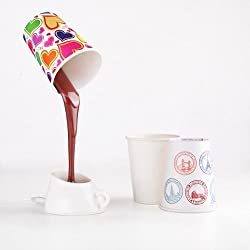 eFashion Creative USB Battery Dual-Use Coffee Light LED Desk Lamp