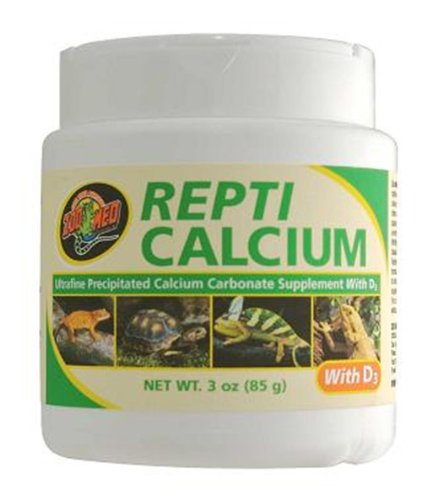 Zoo Med Calcium With Vitamin D3 Reptile Food,