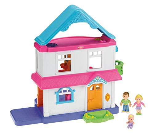 Fisher price my first dollhouse furniture baby toddler for Baby and kids first furniture