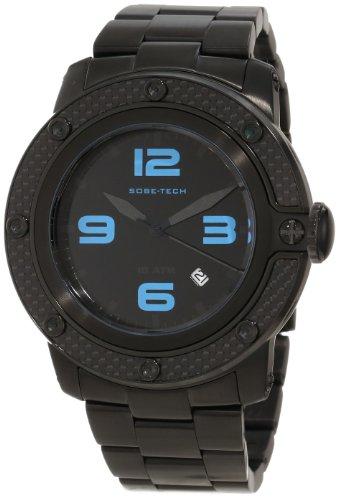 Glam Rock GR33005 - Reloj de pulsera hombre, acero inoxidable, color negro