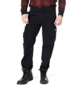 Survivor IV Cargo Pants-Black