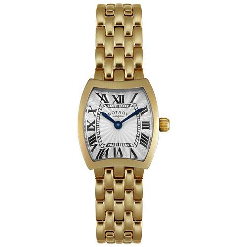 Rotary Women's LB02081/21 Yellow Gold Tone Watch