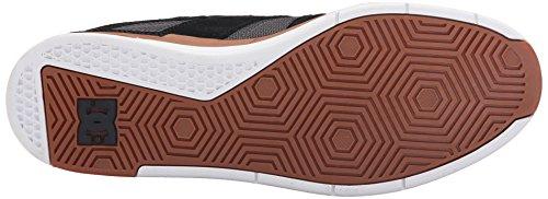 DC Men's Maddo Skate Shoe, Black/Gum, 10 M US