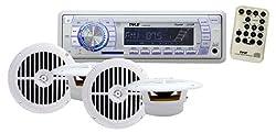 See Pyle PLMRKT34WT In-Dash Marine AM/FM PLL Tuning Radio with USB/SD/MMC Reader Details