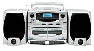 Supersonic SC2020U Double Cassette CD Boombox
